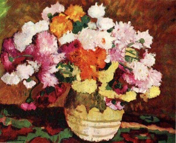 6 - Oala-cu-crizanteme