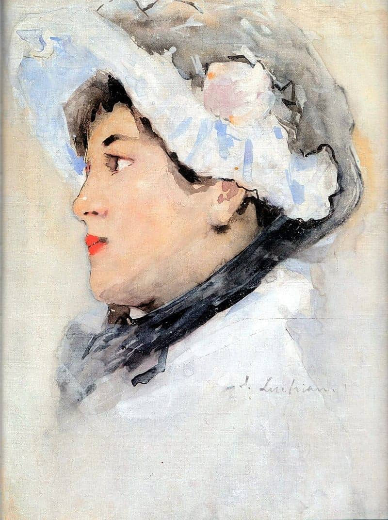 tefanLuchian - Portret-de-femeie