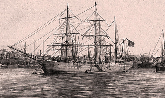 Nava Belgica în Port La Amsterdam