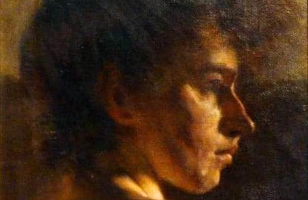 Portrait of a Woman - detail