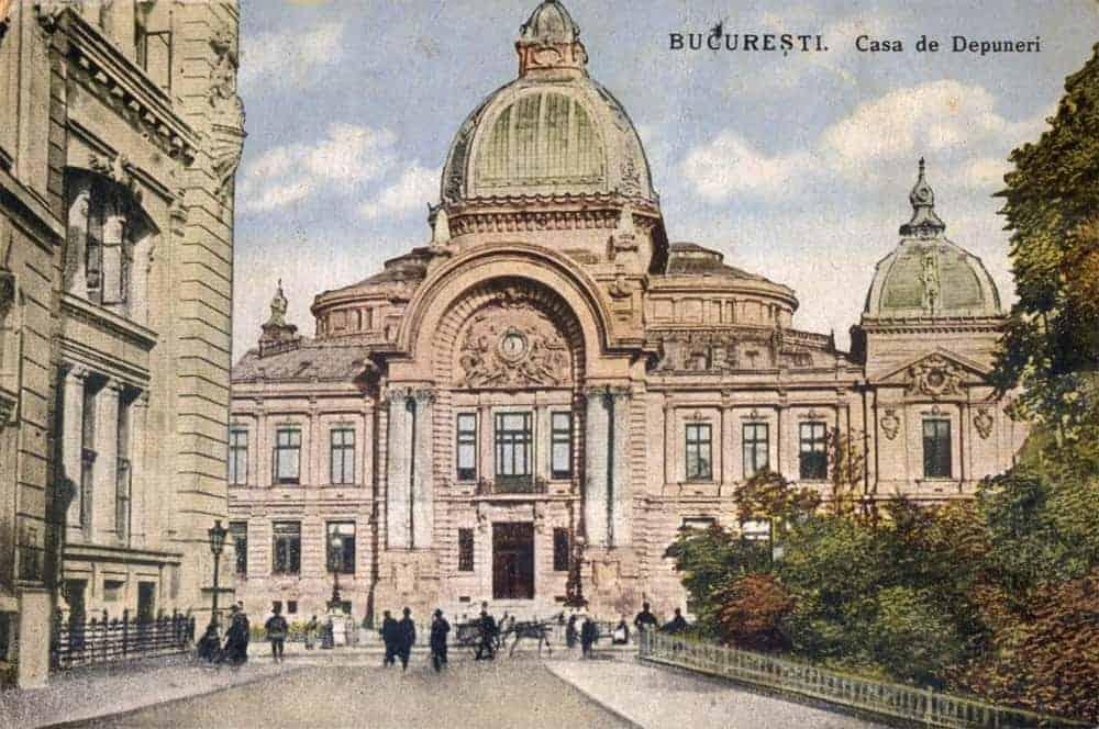 CaleaVictoriei - Palatul-CEC-vedere