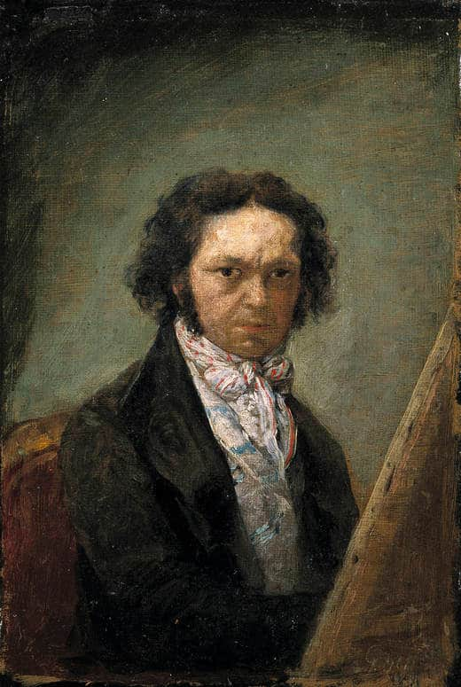 Goya - Goya-Self-portrait-c.-1796-1797