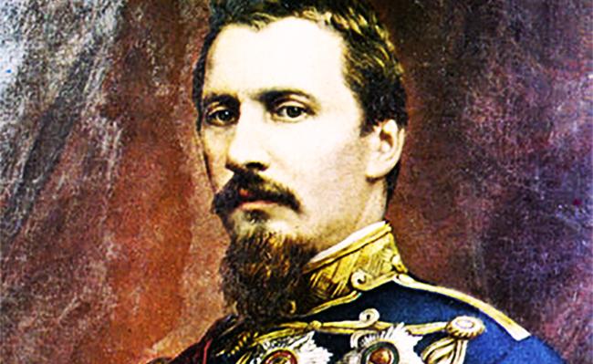 Alexandru Ioan Cuza. Portret de Carol Popp de Szathmáry