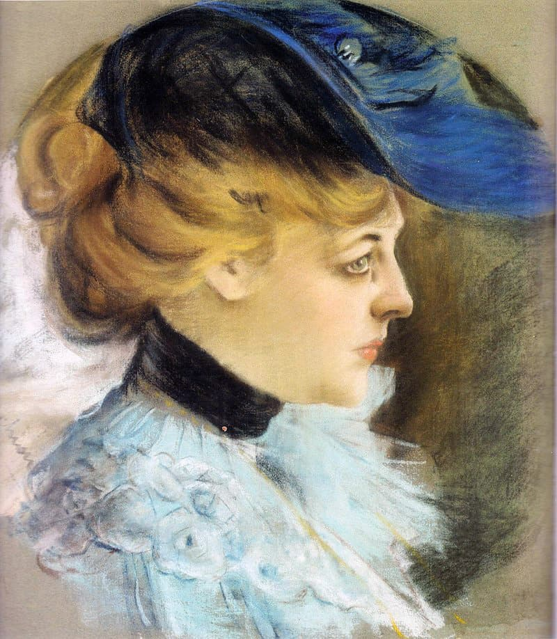 Portrait of Mme Olivier