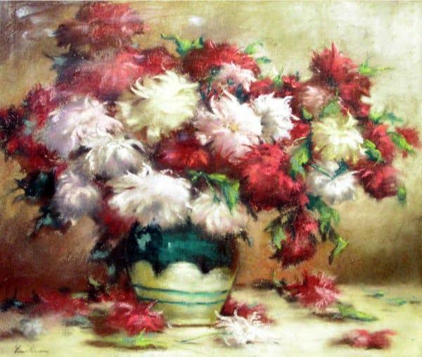 22 - Crizanteme-pastel