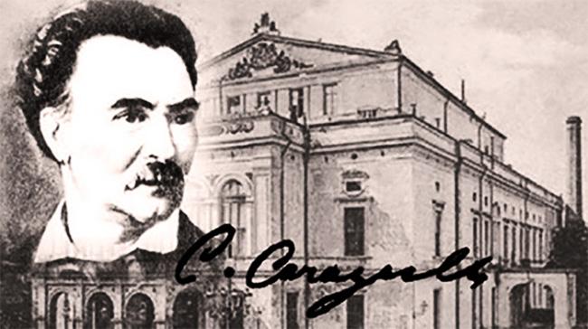 Costache Caragiale și Teatrul Național