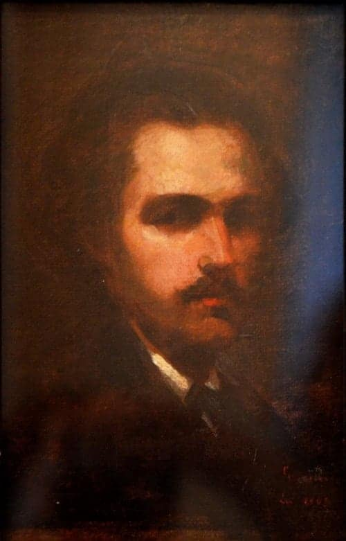 NicolaeGrigorescu - 1863-Autoportret