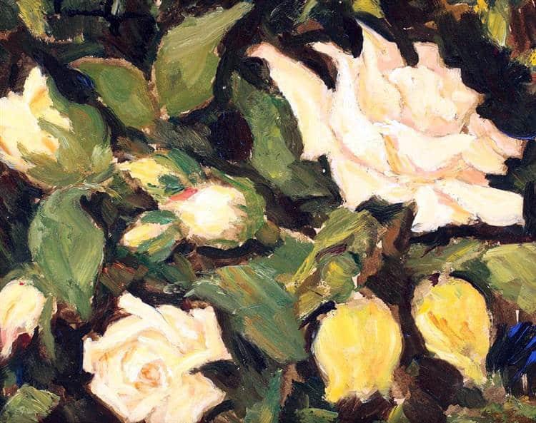 NicolaeTonitza - 1936-Wild-Roses