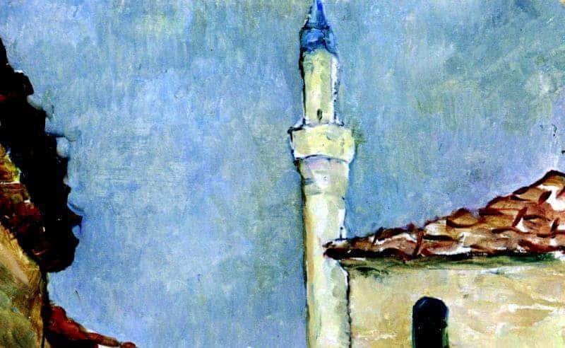 NicolaeTonitza - Farul-din-Balcic-Balchik-Lighthouse-detaliu