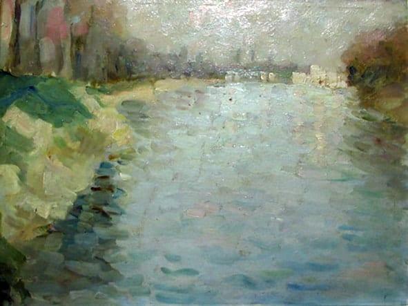 NicolaeTonitza - Nicolae-Tonitza-Sena-la-Courbevoie-1910