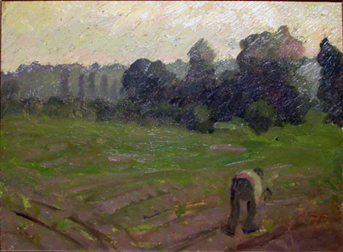 NicolaeTonitza - Pe-ogor-On-the-Field