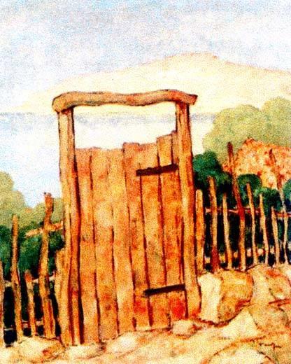 NicolaeTonitza - Poarta-lui-Osman-Osmans-gate