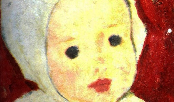 NicolaeTonitza - Portret-de-copil-Child-Portrait-detail