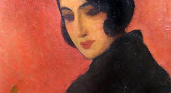 NicolaeTonitza - Spaniola-The-Spanish-Woman-detail