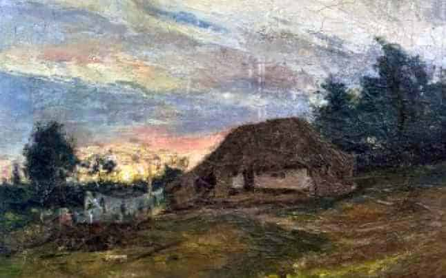 20 - Marginea-satului-la-apus-de-soare