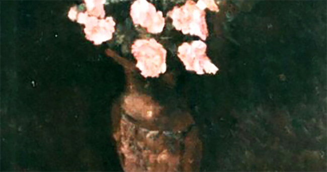 Vase with Flowers - detail