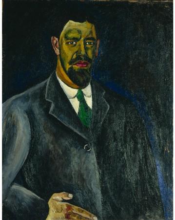 Pyotr-Konchalovsky - Pyotr-Konchalovsky-Self-portrait-1910